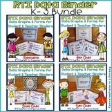 RTI Data Binders for Teachers and Students: K-3 Bundle