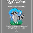 """Raccoons"" Math and Literacy Unit - Aligned with Common Co"