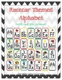 Racer/ Racecar Themed ABC Printables (w/ letter related pictures)
