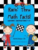 Racin' Thru Math Facts! Addition & Subtraction