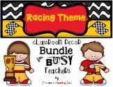 Racing Theme Classroom Decor Bundle