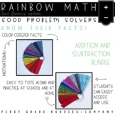 Rainbow Math: Addition and Subtraction Fact Fluency {A Fac