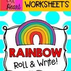 Rainbow Roll and Write FREEBIE