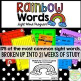 Rainbow Words-A Sight Word Program