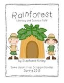 Rainforest- Literacy Fun - Common Core Aligned