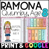 Ramona Quimby, Age 8 by Beverly Cleary: Complete Unit of R
