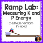 Ramp Lab- Middle school version