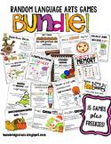 Random Language Arts Games GROWING BUNDLE!