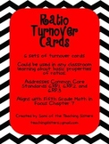 Ratio Turn Over Cards - 5th Grade Math in Focus
