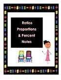 Ratios & Proportions Study Guide - 7th Grade GA Common Core