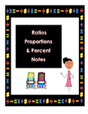 Ratios & Proportions Study Guide - 7th Grade GA Common Core