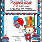 Read Across America 4 Additional Morning Work FREEBIES for