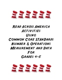 Read Across America Grades 4-5 Common Core Math Standards