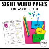 Read It Write It Find It Sight Words