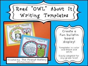 Read OWL About It: Writing Templates