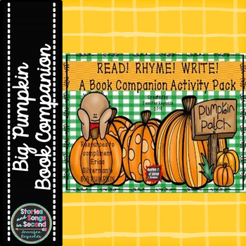 https://www.teacherspayteachers.com/Product/Read-Rhyme-Write-A-Halloween-Book-Companion-Pack-1505062