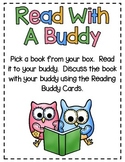 Read With A Buddy - A Collaborative Reading Center - CCSS Aligned