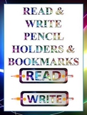 Read & Write Pencil Holders & Bookmarks
