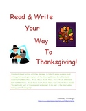 Read & Write Your Way To Thanksgiving
