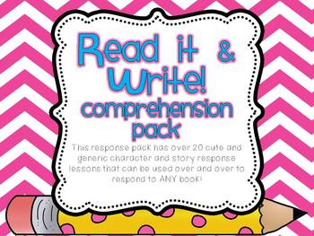 Read and Write Comprehension Pack