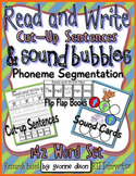 Cut-Up Sentences and Sound Bubbles for RTI {Read and Write