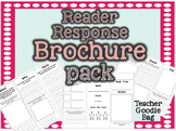 Reader Response Brochure Pack {Common Core Aligned}