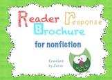 Reader Response Brochure for Nonfiction {Common Core Aligned}