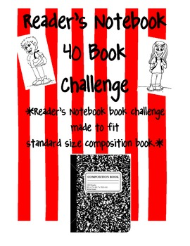 Reader's Notebook 40 Book Challenge