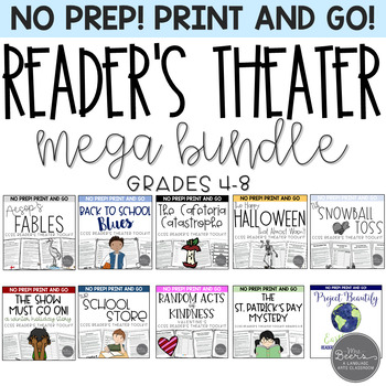 Reader's Theater CCSS MEGA BUNDLE for Grades 4-8