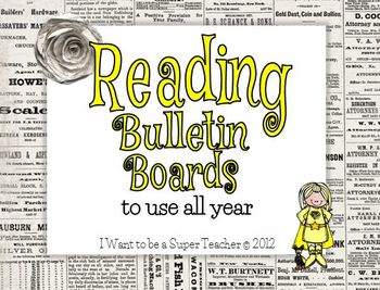 Readers Workshop Bulletin Board Pack