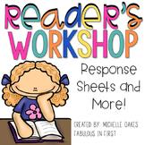 Reader's Workshop Response Sheets: Comprehension Graphic O