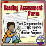 Reading Assessment Form