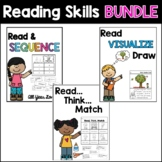 Reading Skills BUNDLE: Visualize, Infer, and Sequence