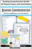 Reading Comprehension - 20 Easy Phonics Poems to develop F