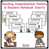 Reading Comprehension Posters and Student Inserts for Read