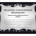 Reading Conference Structure Bookmark