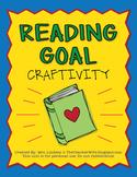 Reading Goal {A Craftivity}