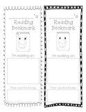Reading Goal Bookmark