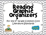 Reading Graphic Organizers (5th Grade Common Core Standards)