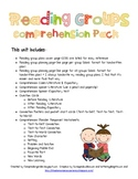 Reading Group Comprehension Pack-Kindergarten