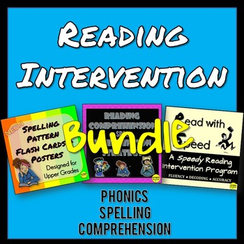 Reading Intervention BUNDLE
