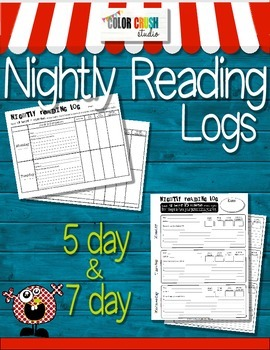 Reading Logs: nicely set up & easy to use even for special