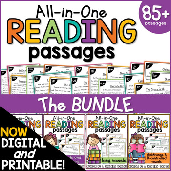 Reading Comprehension All-in-One BUNDLE