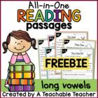 Reading Passages FREEBIE