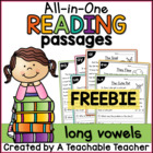 Reading Passages FREEBIE