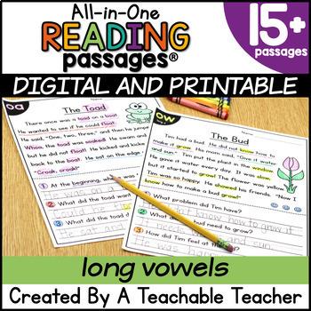 Reading Passages - Long Vowels