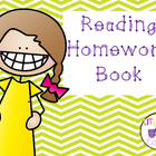 Reading Recovery Homework Book