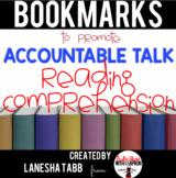 Reading Response Conversation Prompt BOOKMARKS!