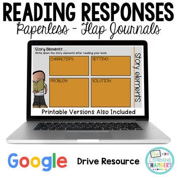 Reading Response Flap Journals