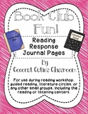 Reading Response Journal {Rainbow Readers Book Club Style}